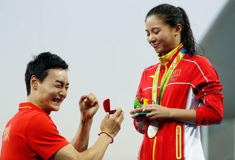 He Zi proposal Olympics