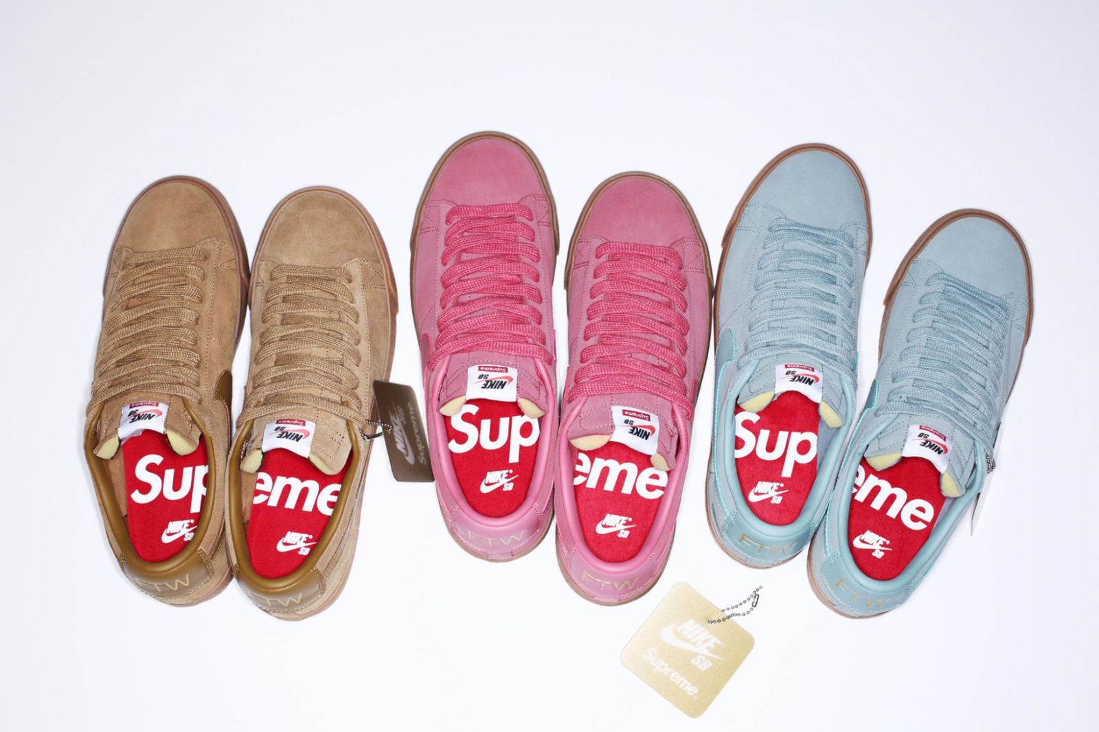 The Supreme x Nike SB collection dropped at 11am today both in store and  online.