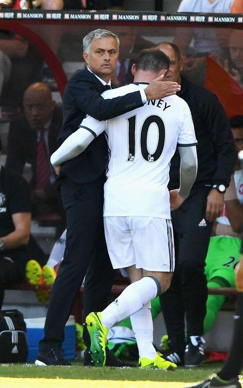 Mourinho and Rooney