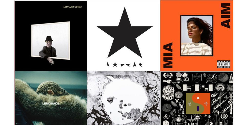 The 20 Best Albums Of 2016