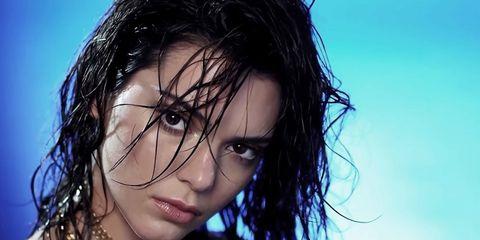 Hair, Nose, Mouth, Lip, Hairstyle, Chin, Forehead, Eyebrow, Eyelash, Black hair,