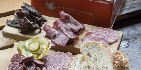 Cannon & Cannon Introduction to British Cured Meats Tin