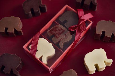 Elephant chocolate trio from R Chocolates
