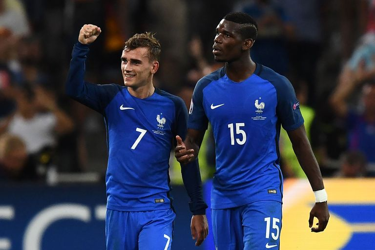 Image result for pogba and griezmann