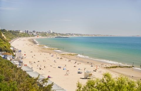 Body of water, Coastal and oceanic landforms, Coast, Shore, Natural environment, Sand, Tourism, Water, Beach, Ocean,