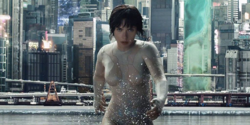 Scarlett Johansson Is A Sexy, Head-Stomping Robot In The Latest 'Ghost In The Shell' Trailer