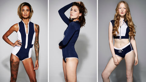 Blue, Hairstyle, Sleeve, Shoulder, Photograph, Joint, Human leg, Standing, Thigh, Waist,