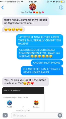 This Valentine S Day Text Prank Made Everyone Except One Girlfriend