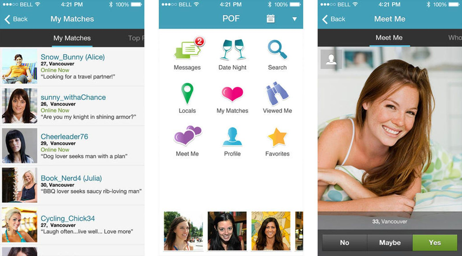 What dating sites are free like pof