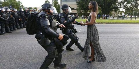 Shoe, Boot, Helmet, Police, Glove, Security, Law enforcement, Military, Ballistic vest, Official,