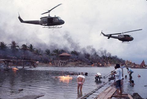 Francis Ford Coppola On The set of 'Apocalypse Now'