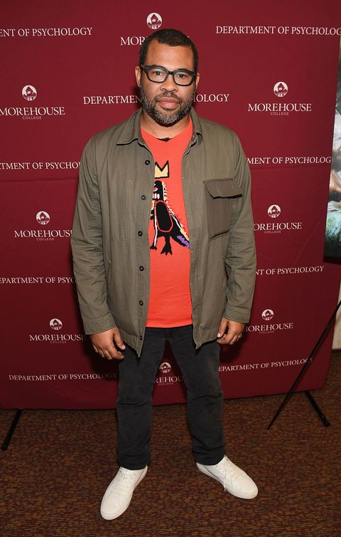 ATLANTA, GA - FEBRUARY 22: Actor/director Jordan Peele attends 'Get Out' Q&A at Morehouse College on February 22, 2017 in Atlanta, Georgia. (Photo by Paras Griffin/Getty Images)