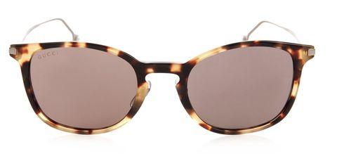 Gucci Tortoiseshell D-frame sunglasses