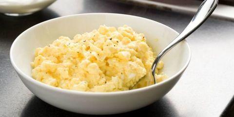 Dish, Food, Cuisine, Ingredient, Egg salad, Produce, Mashed potato, Cauliflower cheese, Creamed corn, Recipe,