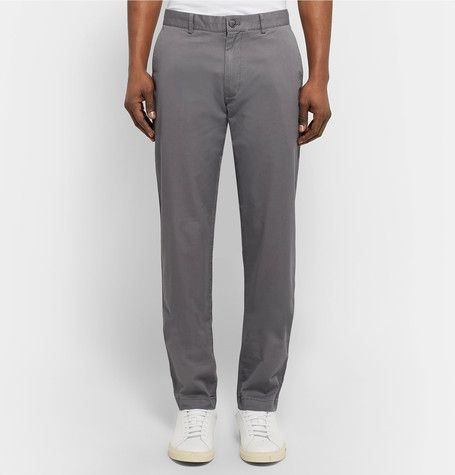 Connor Slim-Fit Stretch-Cotton Twill Chinos