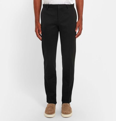 Etro cotton blend trousers