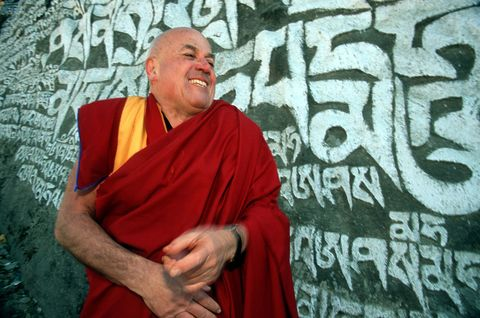 Chin, Forehead, Lama, Monk, Happy, Guru, Temple, Maroon, Wrinkle, Laugh,