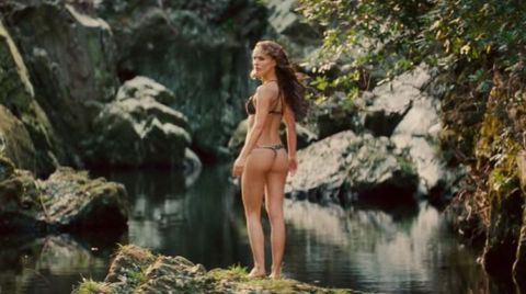 People in nature, Nature, Water, Natural environment, Beauty, Natural landscape, Jungle, Stream, Model, Photography,