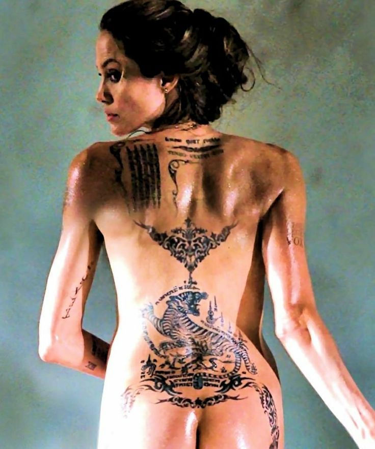 Angelina Jolie Nude Ass