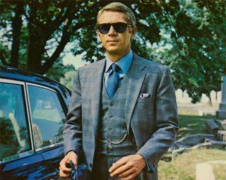 Steve McQueen check suit