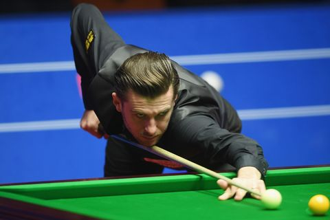 Watch Mark Selby Pull Off The Best Shot So Far At World Snooker Championship - How To Mark Out A Pool Table