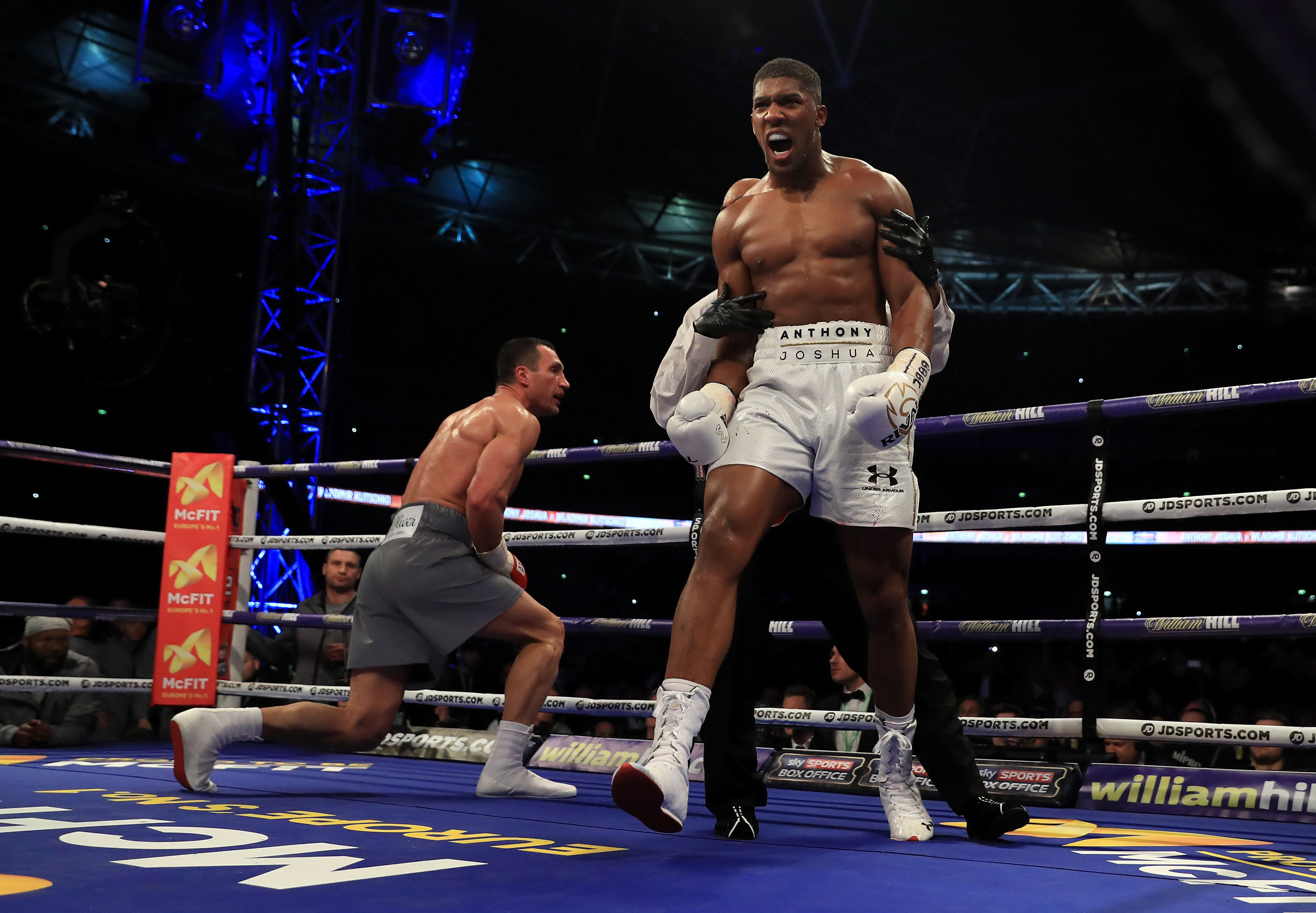 7da7c62ad58 Here s What Anthony Joshua Said To Klitschko Minutes Before Knocking Him Out