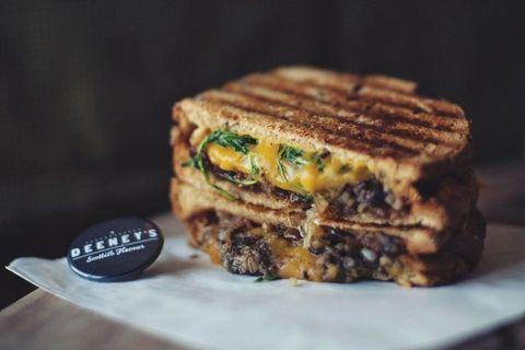 Food, Cuisine, Dish, Patty melt, Ingredient, Baked goods, Finger food, Sandwich, Melt sandwich, Produce,