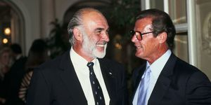 Sean Connery and Roger Moore