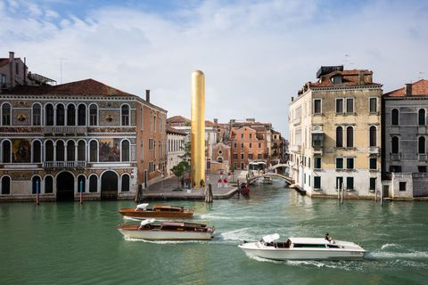 The Golden Rod Venice Biennale