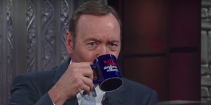 Kevin Spacey on Stephen Colbert