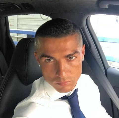 Cristiano Ronaldo Debuts New Haircut On Instagram