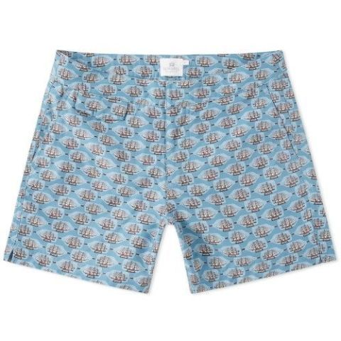 dc852ca4d5 Saturdays NYC. Ennis Short-Length Colour-Block Swim Shorts, £70. 2 of 10.  sunspel