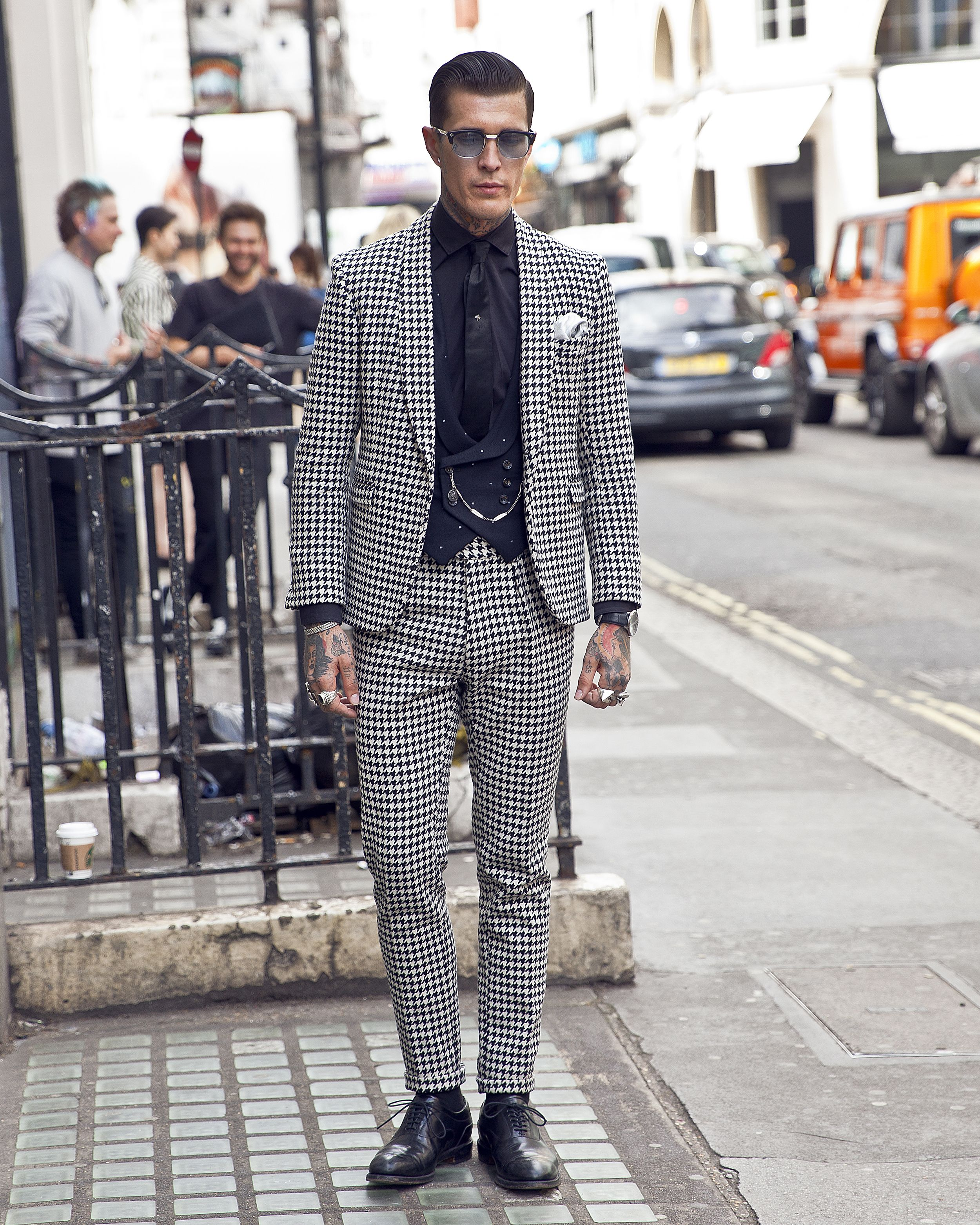 All The Best Street Style From London Fashion Week Men S 2017