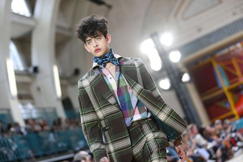 d738e2f5c57 6 Style Lessons From London Fashion Week Men s Spring Summer 2018