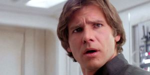 Han Solo who's scruffy looking? Star Wars