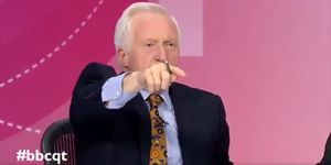 David Dimbleby ejects audience member on Question Time