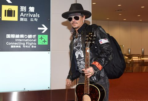 f80338282ba3 We Have So Many Questions About Johnny Depp s Latest Airport Look