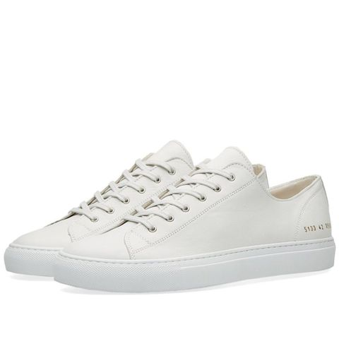 Common Projects leather white