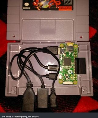 Some Clever Redditor Managed To Build A Mini SNES Out Of A SNES