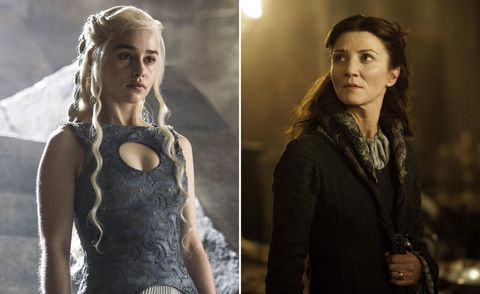 Daenerys Targaryen, Catelyn Stark, Game of Thrones