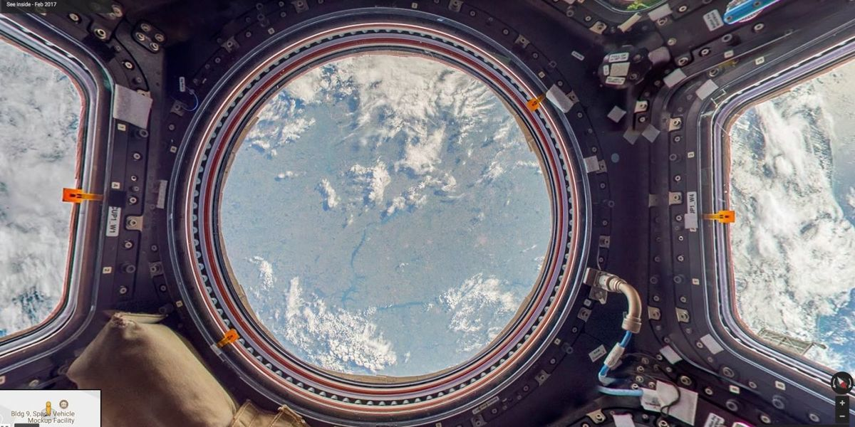You Can Now Visit The International Space Station For Free (On Google Maps)