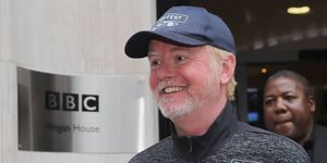 Chris Evans  Wogan House after presenting his Radio 2 Breakfast Show on July 19, 2017