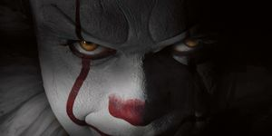 Pennywise from It starring Bill Skarsgard