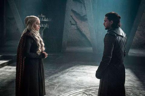 Jon Snow, Danaerys, Emilia Fox, Kit Harrington, Game of Thrones, Season 7