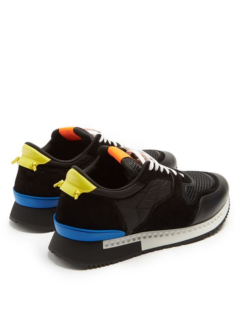 Shoe, Footwear, Sneakers, Black, Orange, Yellow, Blue, Skate shoe, Outdoor shoe, Walking shoe,