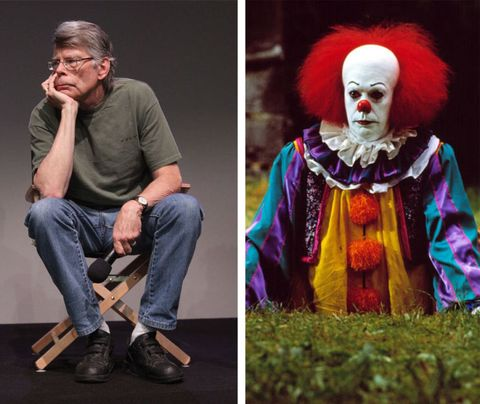 Stephen King and Pennywise