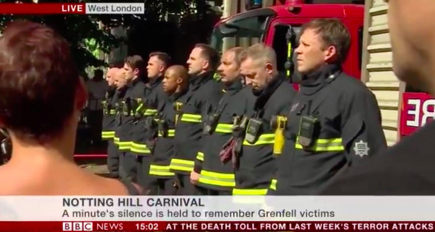 notting hill carnival bbc news