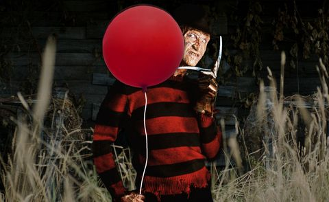 Freddy Krueger, IT, Pennywise