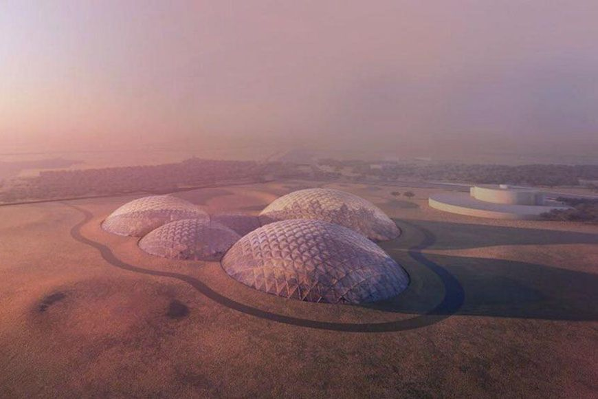 A Dubai stanno costruendo una città che simula la vita su Marte