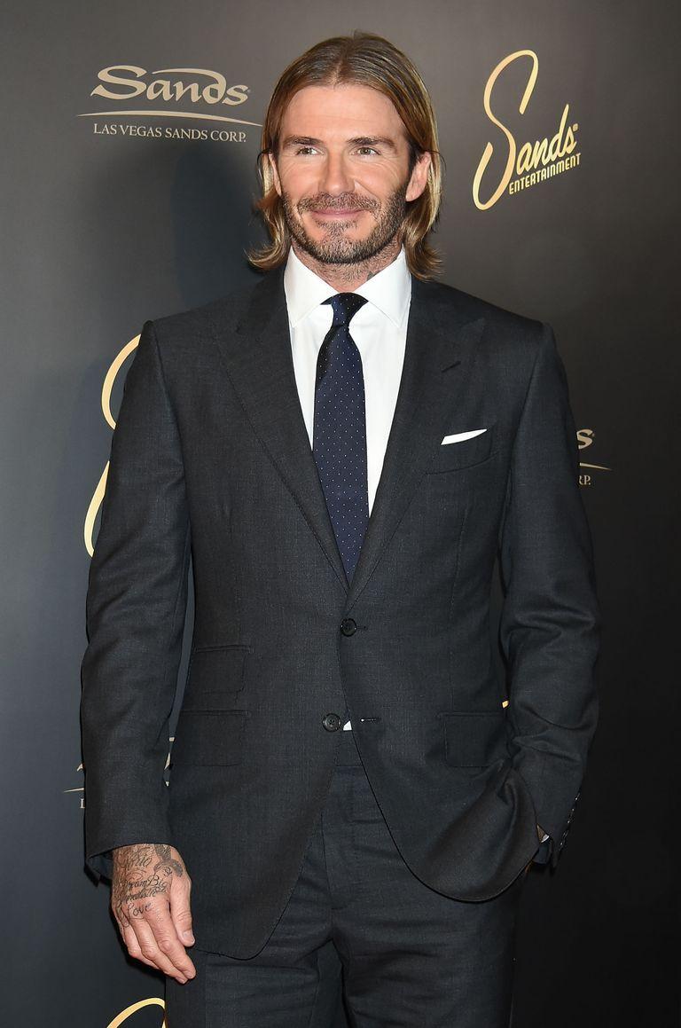How To Get David Beckhams New Long Hair - David beckham new hairstyle